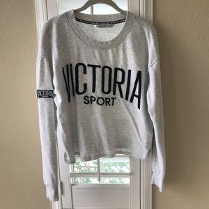 Victoria Secret Cropped Sweatshirt
